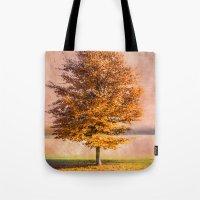 A Sunny Autumn Day Tote Bag