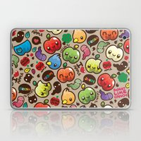 Apple Pattern Laptop & iPad Skin