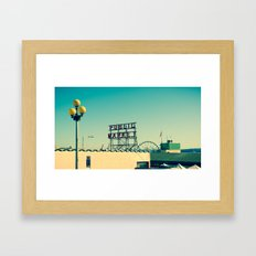 wider public... Framed Art Print