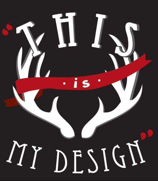 """This is My Design""  Art Print"