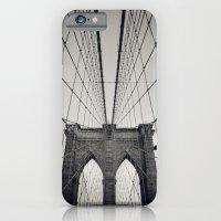 Brooklyn Bridge B/W | New York City iPhone 6 Slim Case