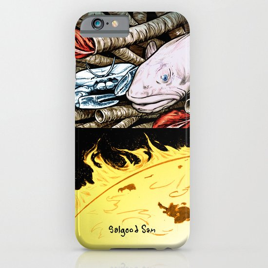 Life on the event horizon 2 iPhone & iPod Case