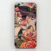 Steal Blossom iPhone & iPod Skin