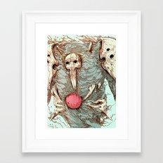 SACHIEL II Framed Art Print