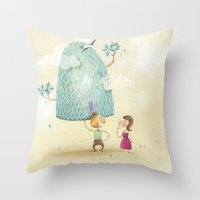 sweet quotation Throw Pillow