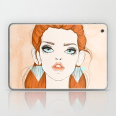 Red-haired girl Laptop & iPad Skin