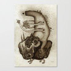 L O S T  Canvas Print
