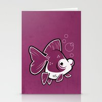 Moor Goldfish Stationery Cards
