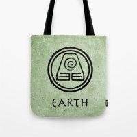 Avatar Last Airbender Elements - Earth Tote Bag