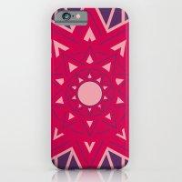 Geometric Star Mandala iPhone 6 Slim Case