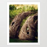 Among the Hidden Art Print