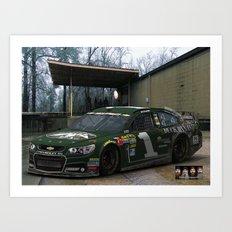 #DuckDynasty #NASCAR Design by @ernhrtfan Art Print