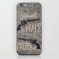 iPhone & iPod Case featuring Blessed Peace Makers by 76 Garments