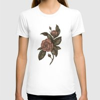 roses T-shirts featuring Roses by Jessica Roux