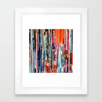 STRIPES 23 Framed Art Print