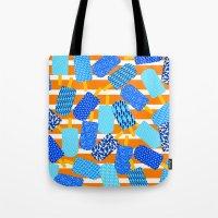 Santorini Popsicles Tote Bag