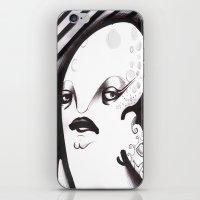 Mrs. Thing iPhone & iPod Skin