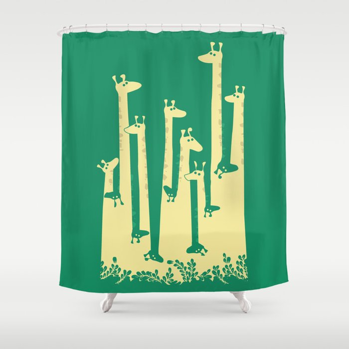 Such A Great Height Shower Curtain By Picomodi Society6