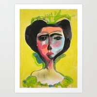 Cameo #1 Art Print
