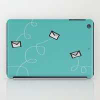 Spin a Message  iPad Case
