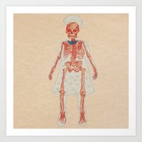 Bones. Questions Series Art Print