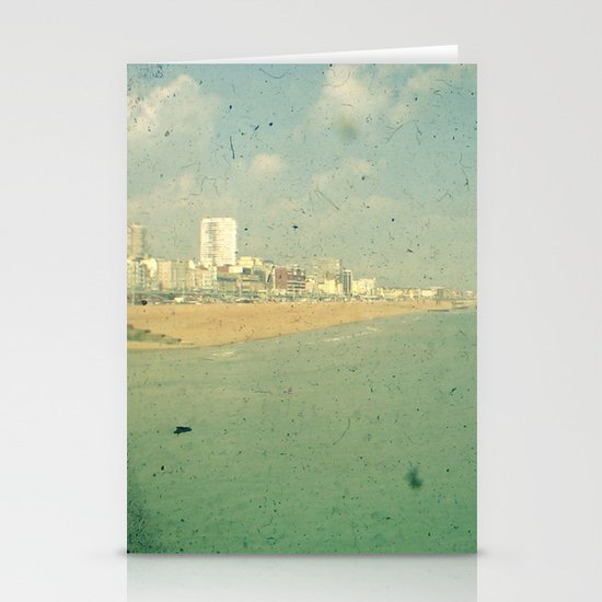 City by the Sea Stationery Card
