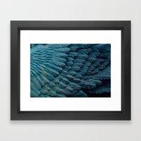 Ombre Wings Framed Art Print