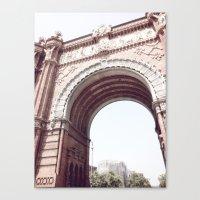 arch Canvas Print