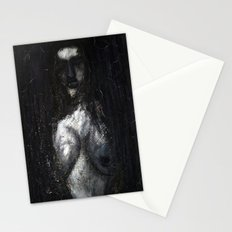 HOT VAMPIRE WITH IMPLANTS Stationery Cards