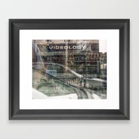 Untitled, Multiple Expos… Framed Art Print