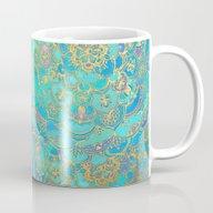 Sapphire & Jade Stained … Mug