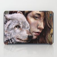 The Girl and the Wolf iPad Case