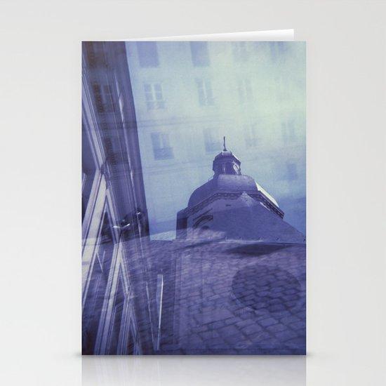 Holga Double Exposure: Eglise Saint-Paul-Saint-Louis, Paris  Stationery Card
