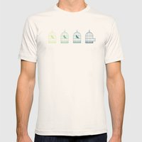 Fly Mens Fitted Tee Natural SMALL