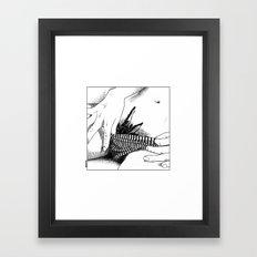 asc 472 - L'heure du repas (Feeding time) Framed Art Print