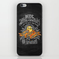 Wisdom of Jake iPhone & iPod Skin