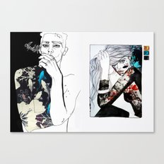 east meets west Canvas Print