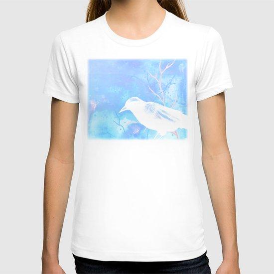 Crow Veins Watercolor/Pen & Ink T-shirt