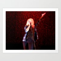 Alison Mosshart // The Kills Art Print