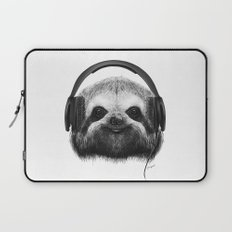 Sloth DJ Laptop Sleeve