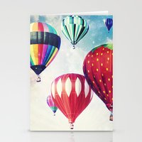 Dreaming Of Hot Air Ball… Stationery Cards