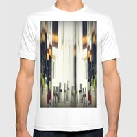 piazza mattei Mens Fitted Tee White SMALL
