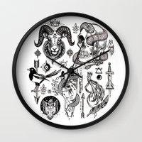 Lesser Alchemy Wall Clock