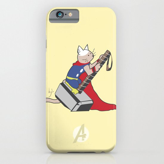 The Catty Thor iPhone & iPod Case