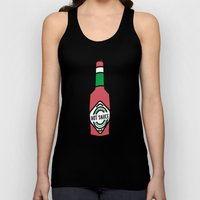 Hot Sauce In My Bag Swag Unisex Tank Top