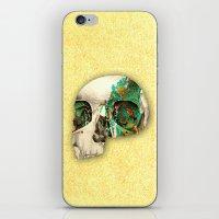 skull2 iPhone & iPod Skin