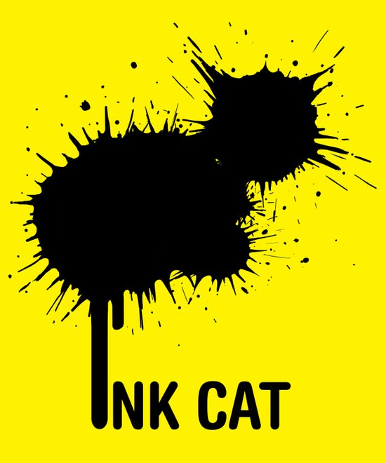 INK CAT Canvas Print