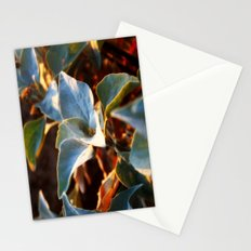 Desert Leaves II Stationery Cards