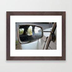 Backseat Framed Art Print