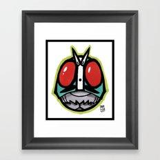 Kamen RYDR!! Framed Art Print